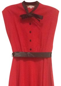 Stop Staring! short dress Red And Black Vintage Retro 50's on Tradesy