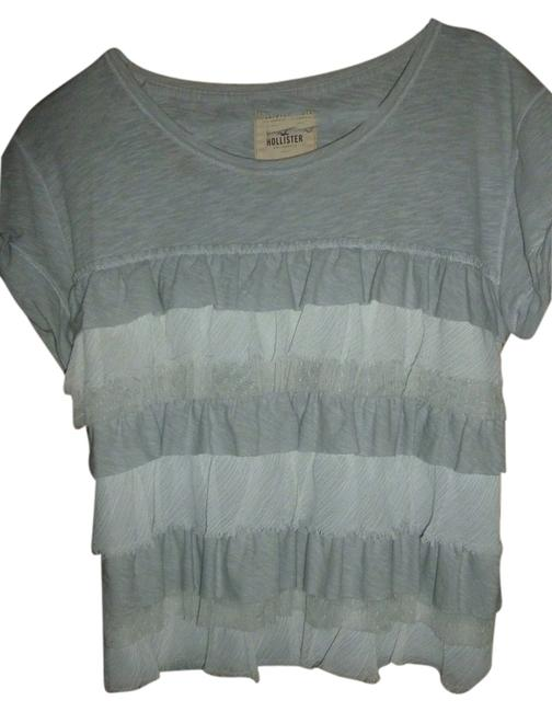 Preload https://img-static.tradesy.com/item/3341695/hollister-gray-blouse-size-12-l-0-0-650-650.jpg