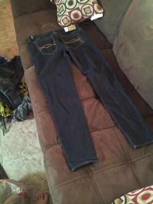 Abercrombie & Fitch A&f Cute New Buy Style Jeggings-Dark Rinse