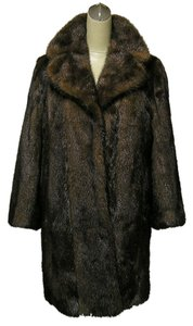 GERMAN FURRIER Mink Real Fur Fur Coat