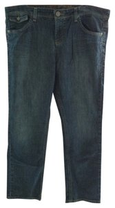 Tommy Hilfiger 99% Cotton 1% Spandex Boot Cut Jeans-Dark Rinse