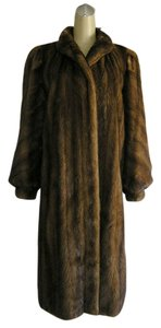 Saga Furs Real Fur Mink Real Mink Coat