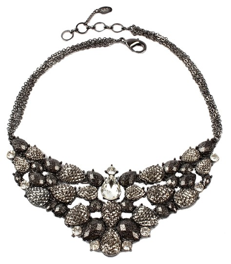 Amrita Singh Amrita Singh Fine Line Faceted Beads Chains and Crystal Necklace