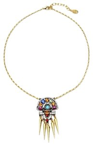 Ben-Amun Ben Amun City Scapes Half Moon Spoke Necklace