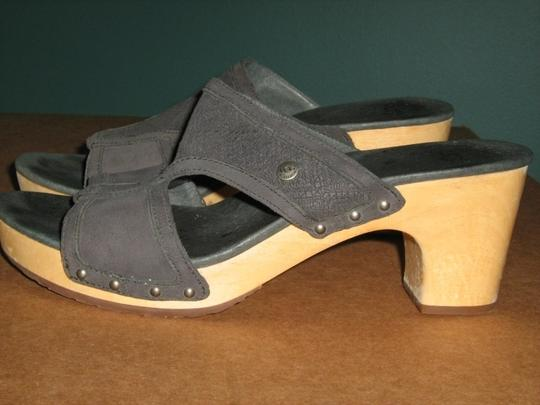 UGG Australia Designer Grey Blue Sandals