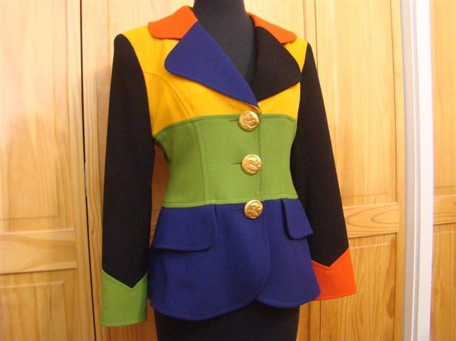 Christian Lacroix color block - multi colors Blazer