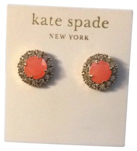 Kate Spade Kate Spade Orange Studs