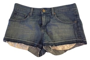 Gap Jean Jean Daisy Dukes Lace Mini/Short Shorts Denim