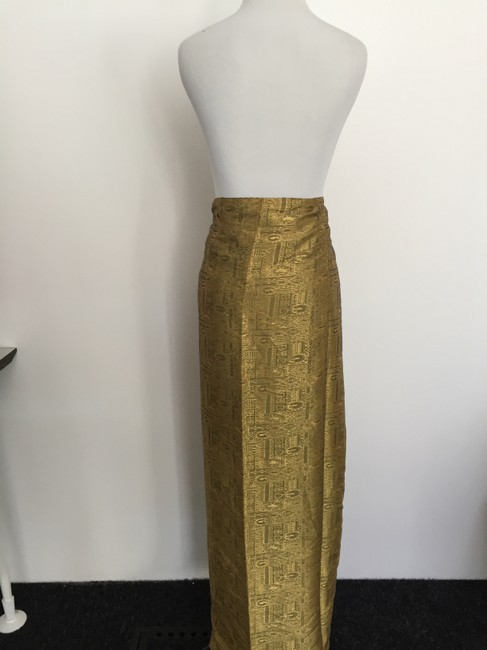 Other Wrap Maxi Skirt Mustard Yellow