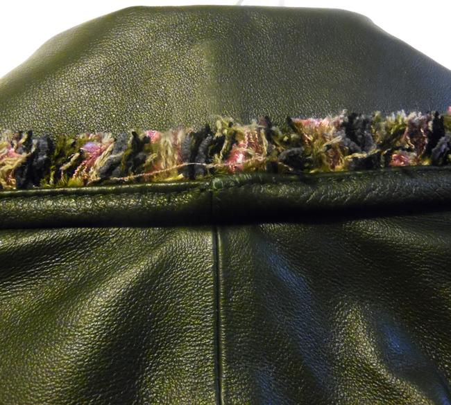 Terry Lewis Classic Luxuries Navy Leather Jacket Image 7