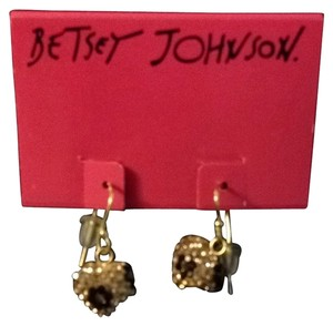 Betsey Johnson Betsey Johnson Cheetah Print Earrings