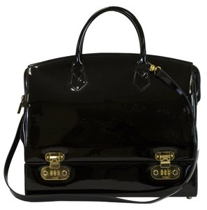Fendi Rare Collectible Leather Tote in Black