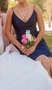 Jim Hjelm Occasions Midnight/navy 5214 Dress
