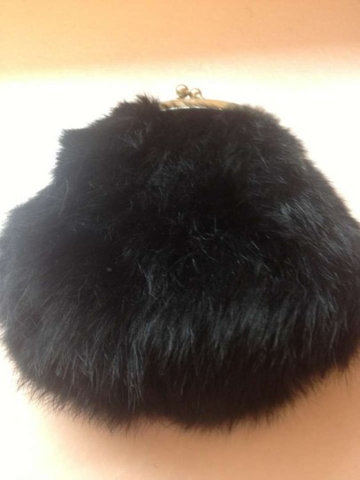 Other Fur Rabbit Fur Pouch Formal Cross Body Bag