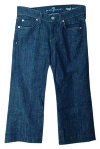 7 For All Mankind Capris Dark Denim