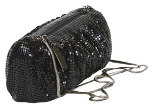 Whiting & Davis Timeless Classic Black Clutch