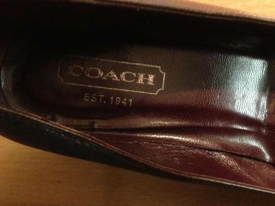 Coach Tiara Leather Women's Vintage Heels Brown Pumps