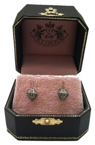 Juicy Couture Juicy Couture Diamond shaped stud earrings