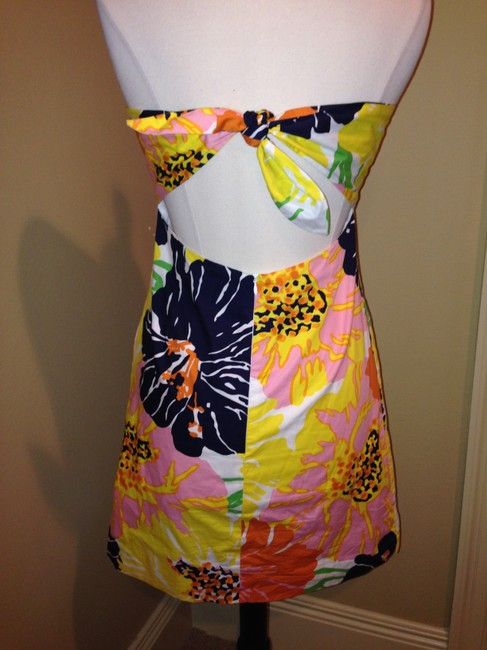Molly B Strapless Size 8 Dress Image 4
