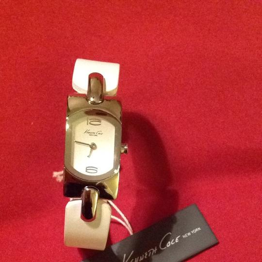Kenneth Cole Kenneth Cole White Silver Tone Watch