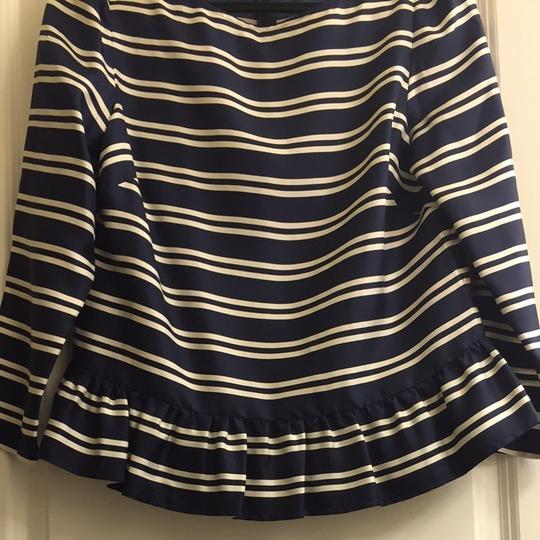 Vineyard Vines Navy Blue And White Top 30%OFF