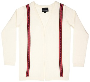 Cynthia Rowley New Striped Light Cardigan