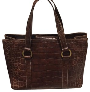 Donald J. Pliner Satchel in Brown