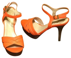Vince Camuto Orange Platforms