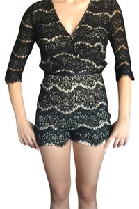 ANGL Lace Lace Trim Party Dress