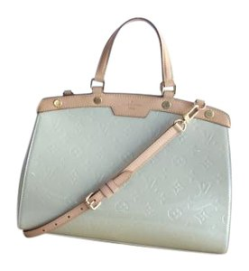 Louis Vuitton Satchel in Cream
