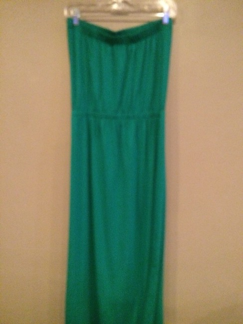 Green Maxi Dress by Gap Image 1
