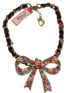 Betsey Johnson Betsey Johnson Bow Necklace