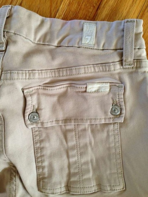 7 For All Mankind Skinny Pants Khaki