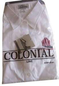 The Colonial Line Button Down Shirt white