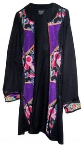 Koos Of Course Black with multi-colored trim Jacket