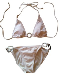 Old Navy Soft cream colored bikini from Old Navy, embroidered detail