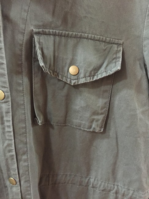 Urban Outfitters Boho Hipster Chic Cotton Candy Feminine Fun Military Jacket
