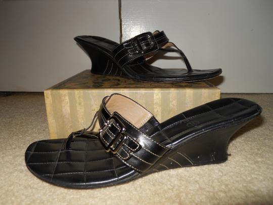 Cole Haan Leather black Sandals Image 1