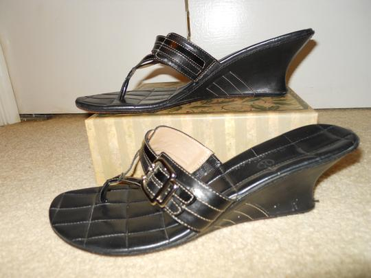 Cole Haan Leather black Sandals
