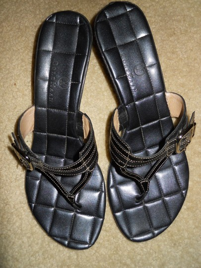 Cole Haan Leather black Sandals Image 4