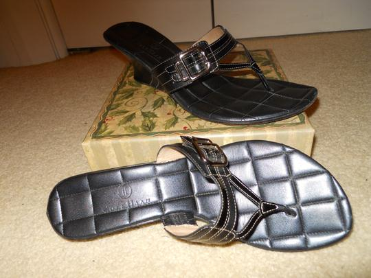 Cole Haan Leather black Sandals Image 8