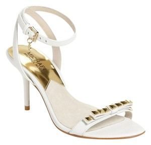 Michael Kors white optic Sandals
