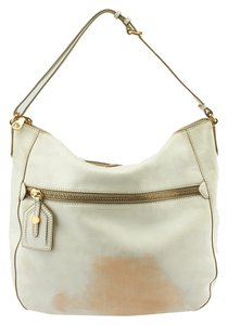 Marc by Marc Jacobs Leather Tote in Ivory