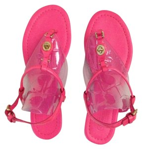 Coach hot pink/fuchia Sandals