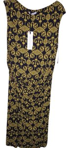 Versace short dress Black/gold on Tradesy