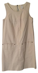 J.Crew short dress Khaki Shift Shift on Tradesy