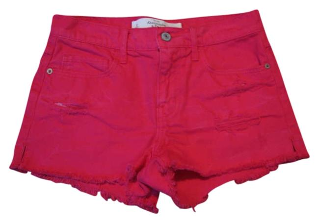 Abercrombie & Fitch Shorts Red