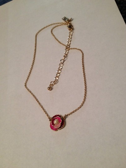Kate Spade Kate Spade Pink Deco Blossom Necklace 14