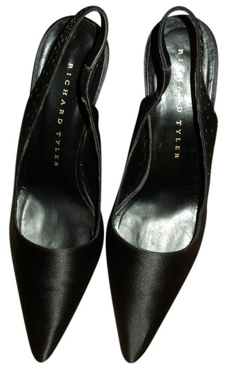 Richard Tyler Black Satin Formal