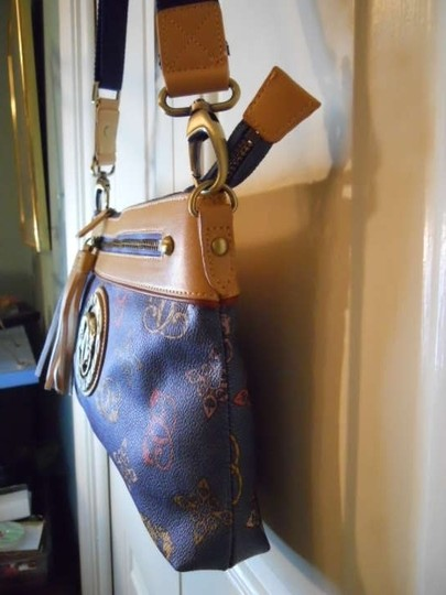 Sharif Leather Man Made Cross Body Bag